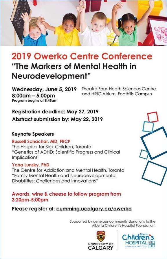 2019 Owerko Centre Conference