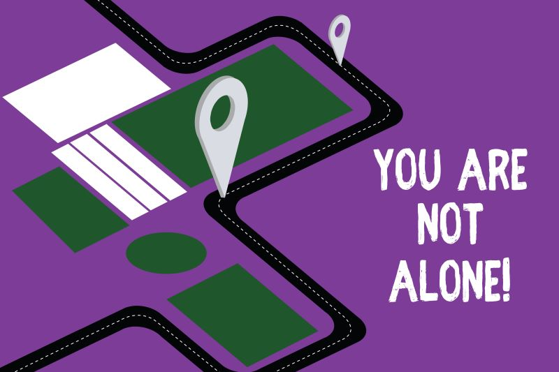 You Are Not Alone Image
