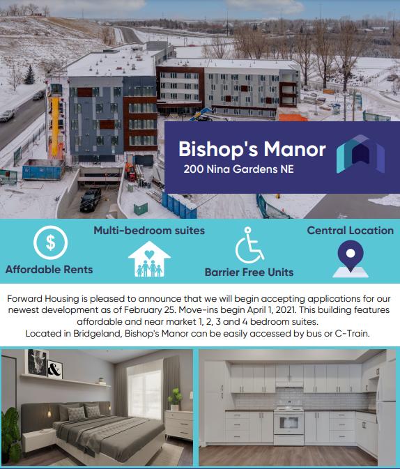 Bishop's Manor Infographic