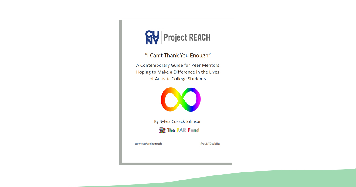 Project REACH Peer Mentor Manual (document image)