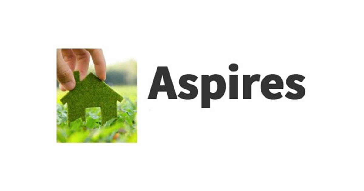 Aspires logo (white background)