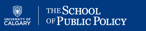 The School of Public Policy (University of Calgary) logo image