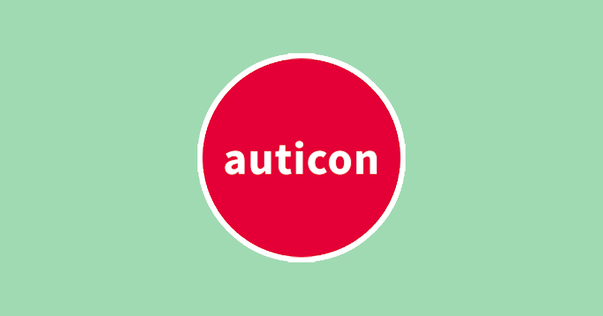 auticon logo (with green background)