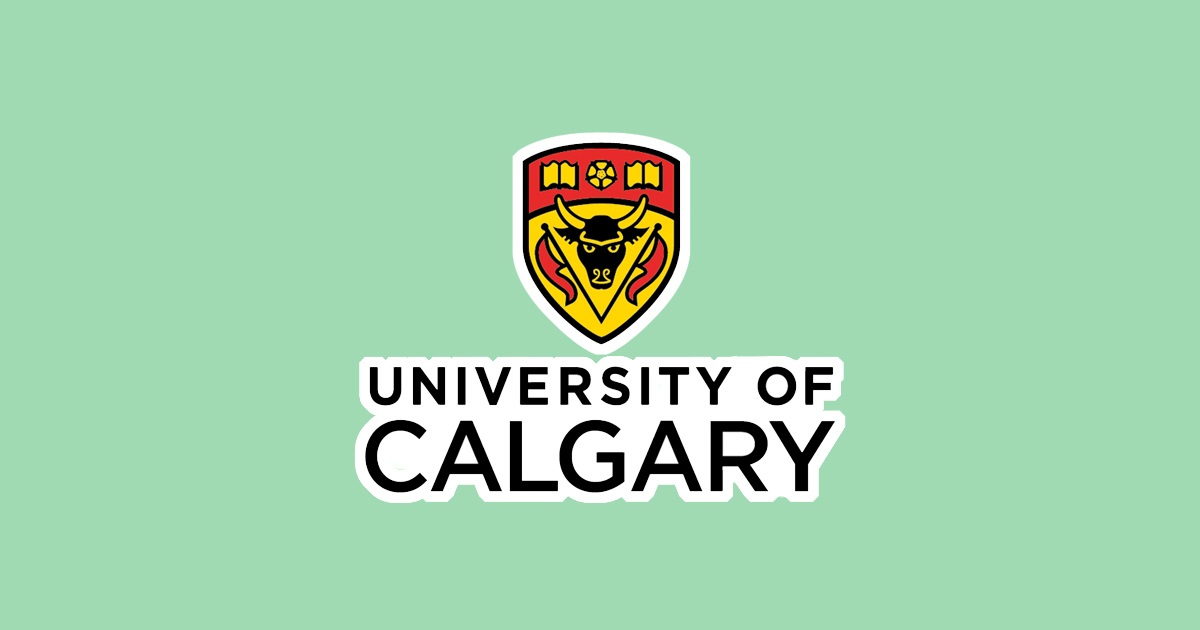 University of Calgary logo (with green background)