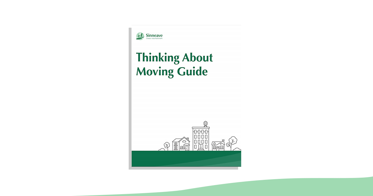 Cover image of Sinneave's Thinking About Moving Guide